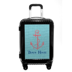 Chic Beach House Carry On Hard Shell Suitcase