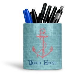 Chic Beach House Ceramic Pen Holder