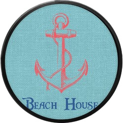 Chic Beach House Round Trailer Hitch Cover