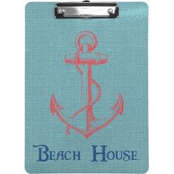 Chic Beach House Clipboard