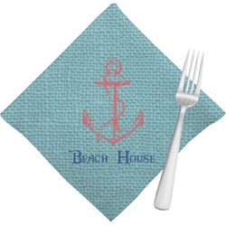 Chic Beach House Napkins (Set of 4)