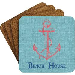 Chic Beach House Coaster Set
