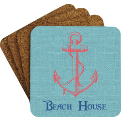 Chic Beach House Coaster Set