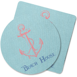 Chic Beach House Rubber Backed Coaster