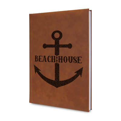 Chic Beach House Leatherette Journal