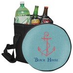 Chic Beach House Collapsible Cooler & Seat