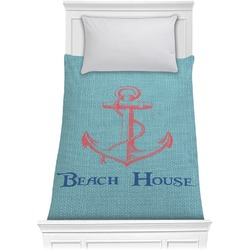 Chic Beach House Comforter - Twin