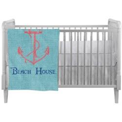 Chic Beach House Crib Comforter / Quilt