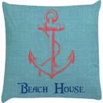 Chic Beach House Decorative Pillow Case