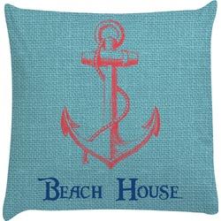 Chic Beach House Decorative Pillow Case