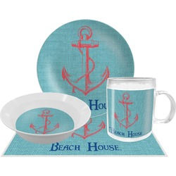 Chic Beach House Dinner Set - 4 Pc
