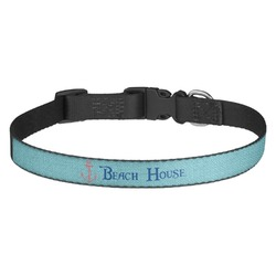 Chic Beach House Dog Collar - Multiple Sizes
