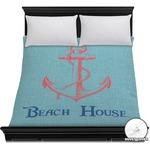 Chic Beach House Duvet Cover