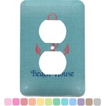 Chic Beach House Electric Outlet Plate