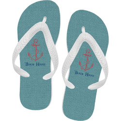 Chic Beach House Flip Flops