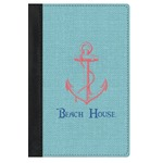 Chic Beach House Genuine Leather Passport Cover