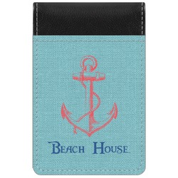 Chic Beach House Genuine Leather Small Memo Pad