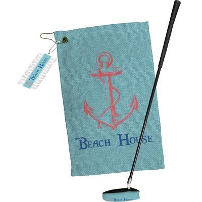 Chic Beach House Golf Towel Gift Set