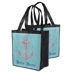 Chic Beach House Grocery Bag