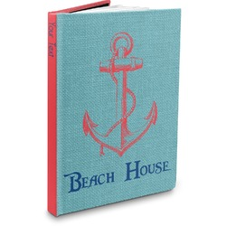 Chic Beach House Hardbound Journal
