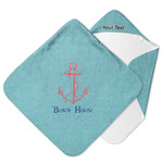 Chic Beach House Hooded Baby Towel