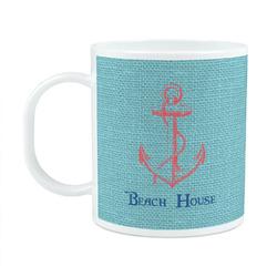 Chic Beach House Plastic Kids Mug