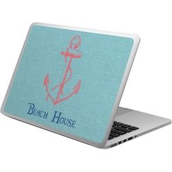 Chic Beach House Laptop Skin - Custom Sized