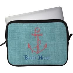 "Chic Beach House Laptop Sleeve / Case - 13"""