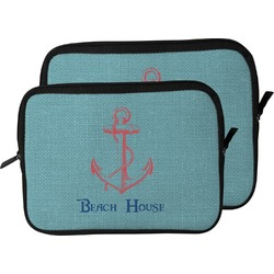 Chic Beach House Laptop Sleeve / Case