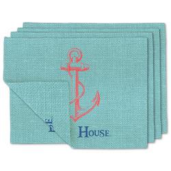 Chic Beach House Linen Placemat