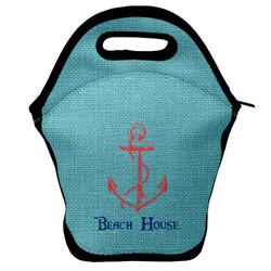 Chic Beach House Lunch Bag