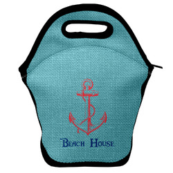Chic Beach House Lunch Bag