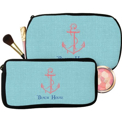 Chic Beach House Makeup / Cosmetic Bag