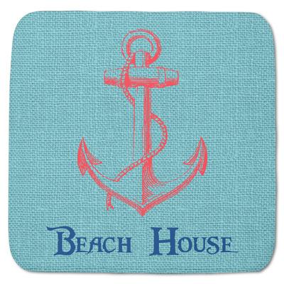 """Chic Beach House Memory Foam Bath Mat - 48""""x48"""""""