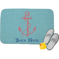 Chic Beach House Memory Foam Bath Mat