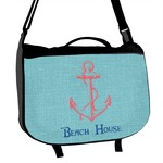 Chic Beach House Messenger Bag