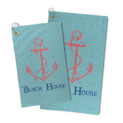 Chic Beach House Microfiber Golf Towel
