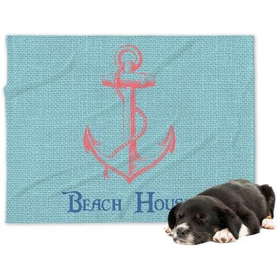 Chic Beach House Dog Blanket