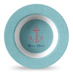 Chic Beach House Plastic Bowl - Microwave Safe - Composite Polymer