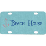 Chic Beach House Mini / Bicycle License Plate