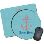 Chic Beach House Mouse Pads