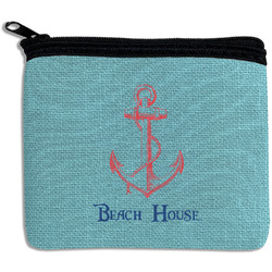 Chic Beach House Rectangular Coin Purse