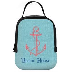 Chic Beach House Neoprene Lunch Tote
