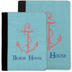 Chic Beach House Notebook Padfolio