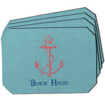Chic Beach House Dining Table Mat - Octagon
