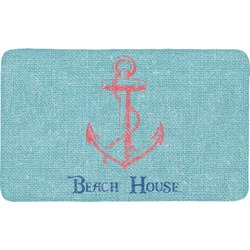 Chic Beach House Bath Mat