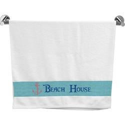 Chic Beach House Bath Towel