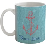 Chic Beach House Coffee Mug