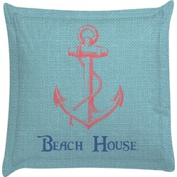 Chic Beach House Euro Sham Pillow Case