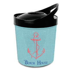 Chic Beach House Plastic Ice Bucket